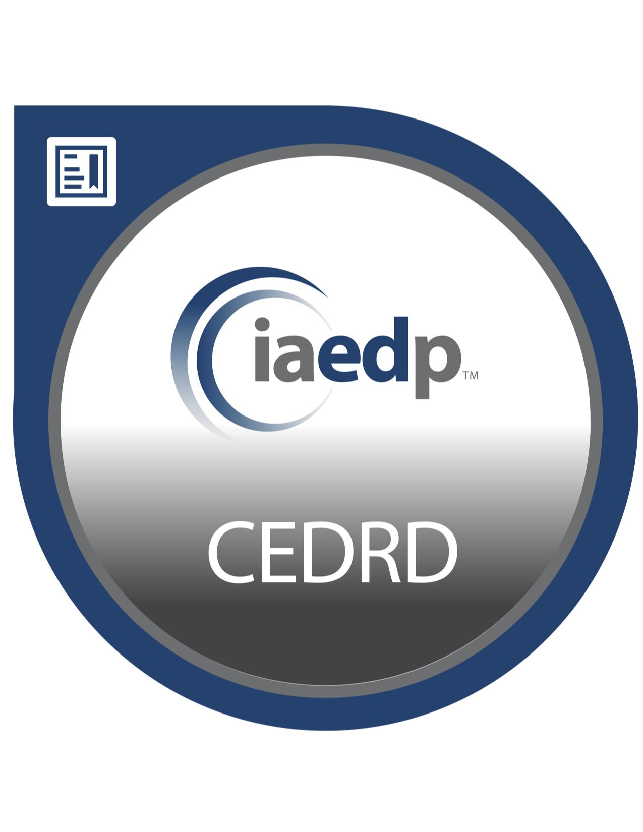 CEDRD badge